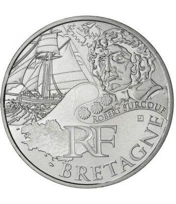 Francia 10 € 2012 Les Euros des Regions. Bretagne.  - 1