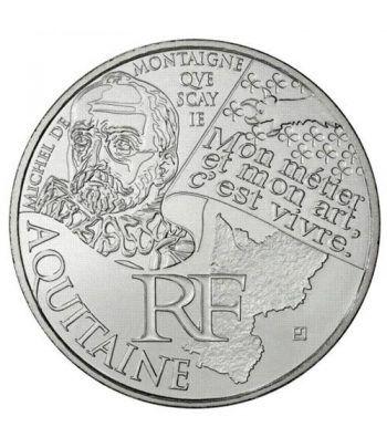 Francia 10 € 2012 Les Euros des Regions. Aquitaine.  - 1