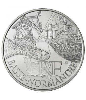 Francia 10 € 2012 Les Euros des Regions. Basse Normandie.  - 1
