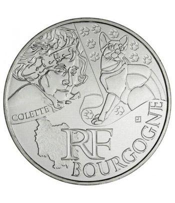 Francia 10 € 2012 Les Euros des Regions. Bourgogne.  - 1
