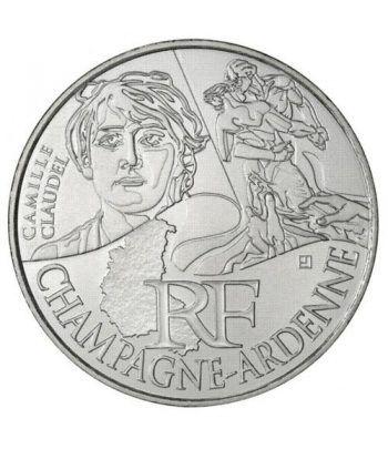 Francia 10 € 2012 Les Euros des Regions. Champagne-Ardenne  - 1
