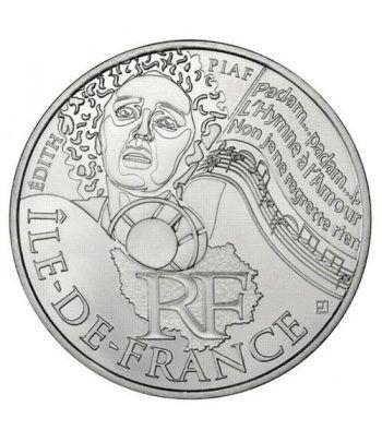 Francia 10 € 2012 Les Euros des Regions. Ile-de-France  - 1