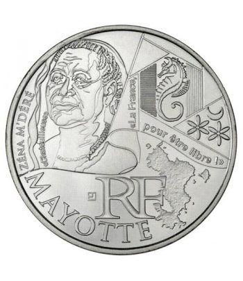 Francia 10 € 2012 Les Euros des Regions. Mayotte  - 1
