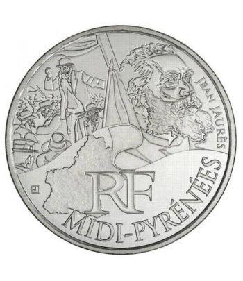 Francia 10 € 2012 Les Euros des Regions. Midi-Pyrénées  - 1