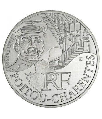 Francia 10 € 2012 Les Euros des Regions. Poitou-Charentes.  - 1