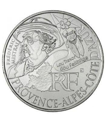 Francia 10 € 2012 Les Euros des Regions. Provence-Cote d'Azur  - 1