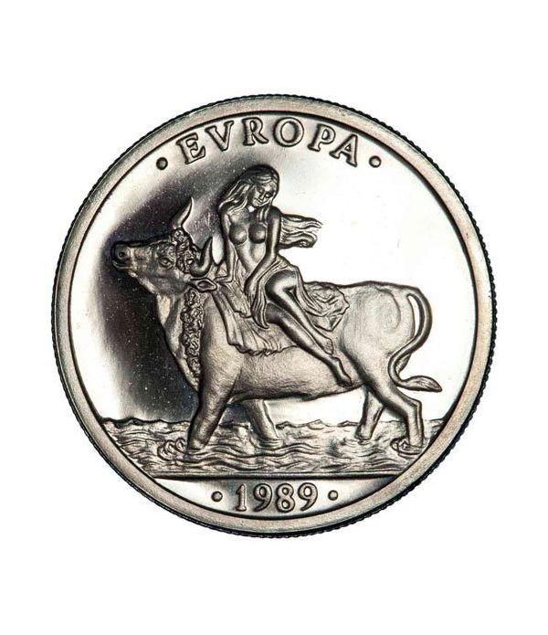 1 ECU. Comunidad Económica Europea 1989  - 1