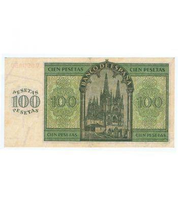 (1936/11/21) Burgos. 100 Pesetas. MBC.  - 4