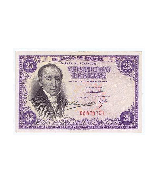 (1946/02/19) Madrid. 25 Pesetas. EBC. Sin Serie  - 1
