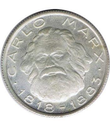 Medalla Carlo Marx 1818-1883. Karl Marx. Cuproníquel.  - 1