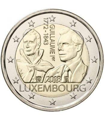 moneda conmemorativa 2 euros Luxemburgo 2018 Guillermo I.  - 2