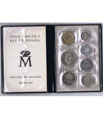 (1984) Cartera Juan Carlos I. 7 monedas  - 4