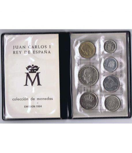 (1984) Cartera Juan Carlos I. 7 monedas  - 1