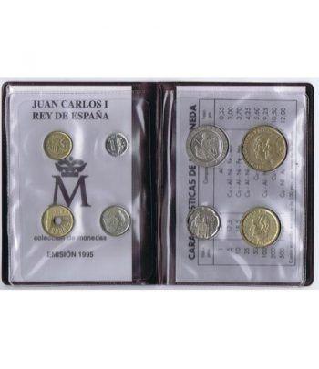(1995) Cartera Juan Carlos I. 8 monedas  - 2