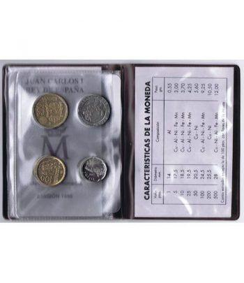 (1995) Cartera Juan Carlos I. 8 monedas  - 4
