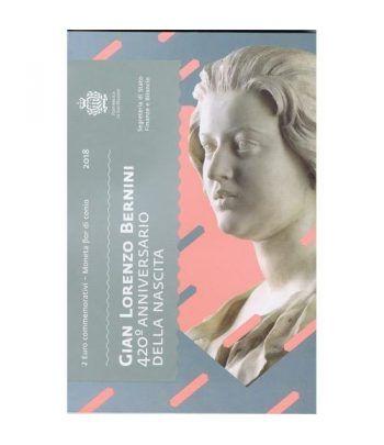 moneda conmemorativa 2 euros San Marino 2018 Bernini.  - 4