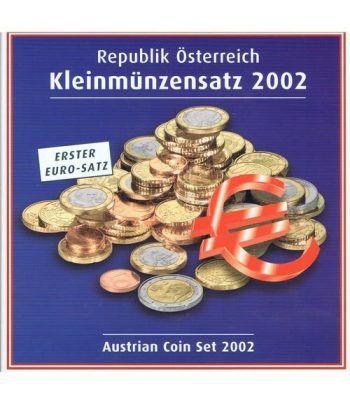 Cartera oficial euroset Austria 2002  - 1