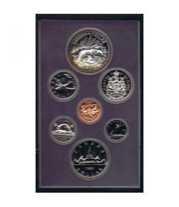 Estuche monedas Canada 1980 prestige. Proof.  - 4