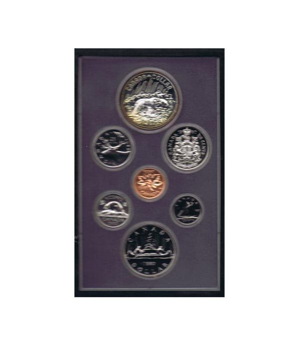 Estuche monedas Canada 1980 prestige. Proof.  - 1