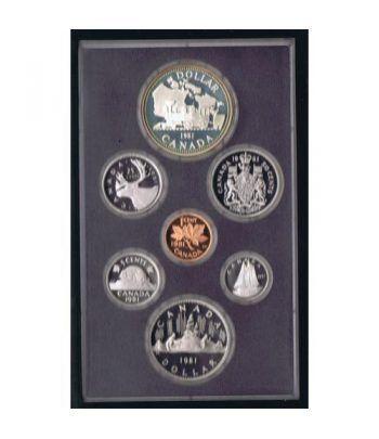 Estuche monedas Canada 1981 prestige. Proof.  - 1