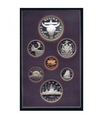 Estuche monedas Canada 1982 prestige. Proof.  - 1