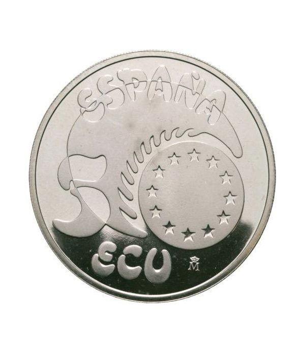 5 ECU. Comunidad Económica Europea (1989)  - 1
