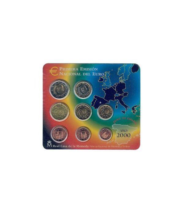 Cartera oficial euroset España 2000  - 2