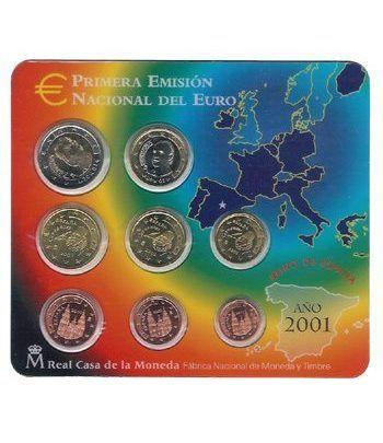 Cartera oficial euroset España 2001  - 2