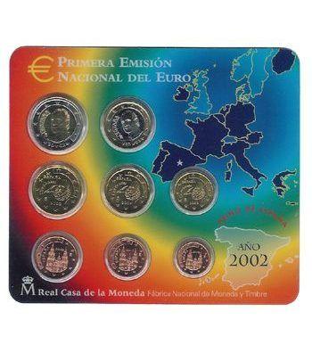 Cartera oficial euroset España 2002  - 2