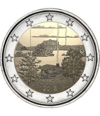 moneda conmemorativa 2 euros Finlandia 2018 Sauna  - 2