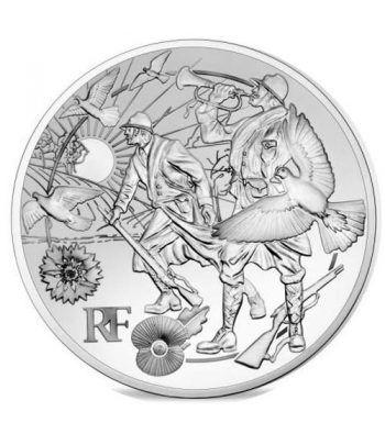 Francia 10€ 2018 Gran Guerra. Paz.  - 1