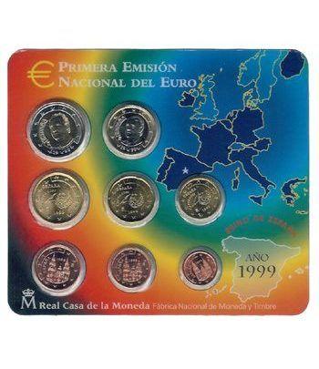 Cartera oficial euroset España 1999  - 2