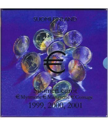 Cartera oficial euroset Finlandia 1999 - 2000 - 2001  - 2