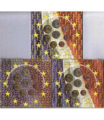 Cartera oficial euroset Francia 1999 - 2000 - 2001  - 2
