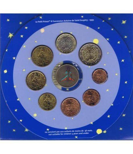 Cartera oficial euroset Francia 2002 (Principito)  - 2