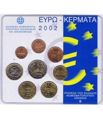 Cartera oficial euroset Grecia 2002  - 2