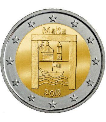moneda conmemorativa 2 euros Malta 2018 Patrimonio Cultural  - 2