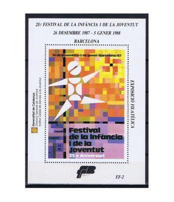 1987 Festival de la Infància i la Joventut. Hojita recuerdo  - 2