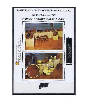 1987 Mostra Artesania Catalana. Hojita recuerdo  - 2