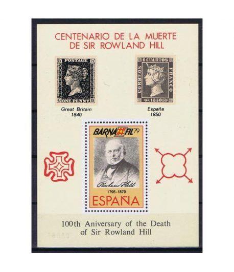 1979 BARNAFIL Centenario Rowland. Hojita recuerdo.  - 2