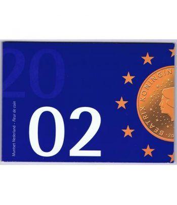 Cartera oficial euroset Holanda 2002 (Azul)  - 1