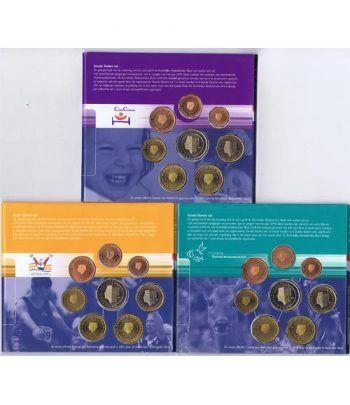 Cartera oficial euroset  Holanda 1999 - 2000 - 2001  - 2