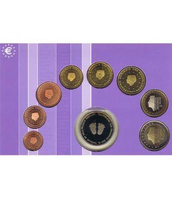 Cartera oficial euroset Holanda 2002 (Bebes)  - 4