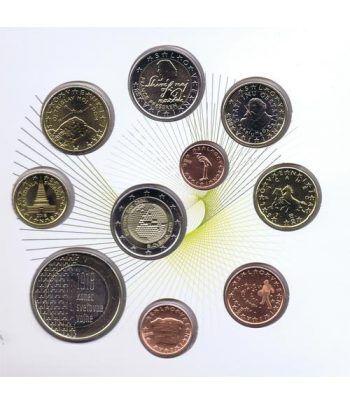 Cartera oficial euroset Eslovenia 2018. Incluye 2 y 3 euros  - 2