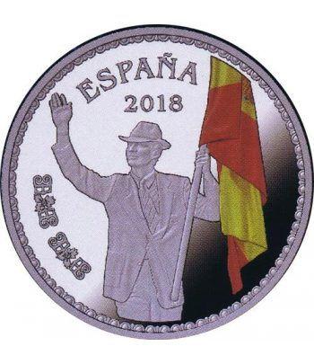 Moneda 2018 50 Aniversario Felipe VI Abanderado. 10 euros. Plata  - 1