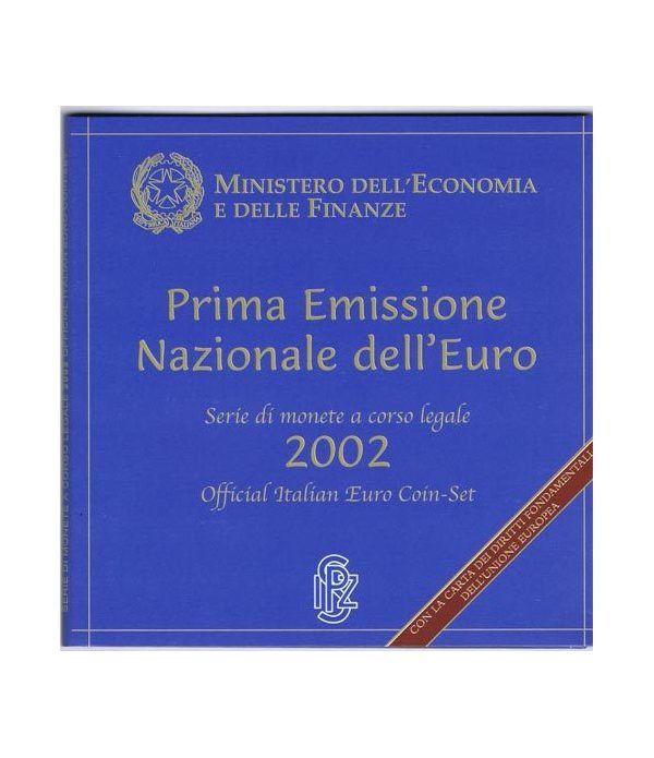 Cartera oficial euroset Italia 2002  - 1