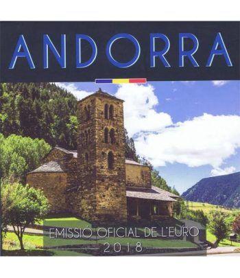 Monedas Euroset Andorra 2018.  - 1