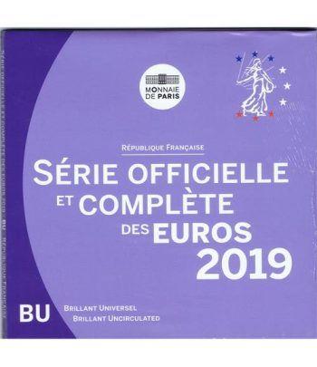 Cartera oficial euroset Francia 2019.  - 1