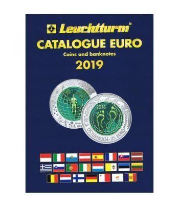 Monedas y billetes EURO-CATALOGO LEUCHTTURM 2019. Catalogos Monedas - 2