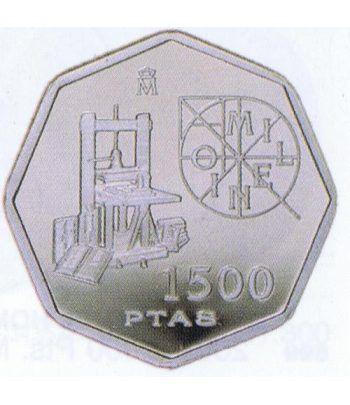 1500 Pesetas 2000 Milenio Imprenta  - 1